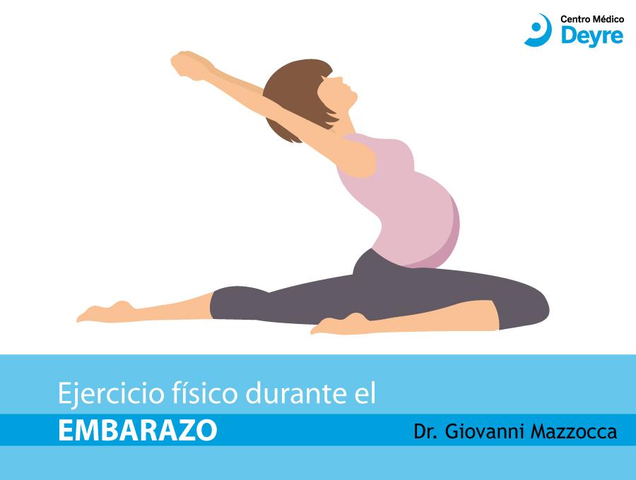 embarazo y ejercicio físico