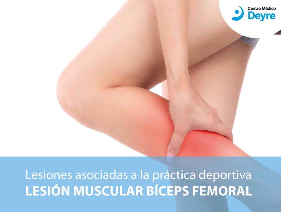 lesión muscular biceps femoral